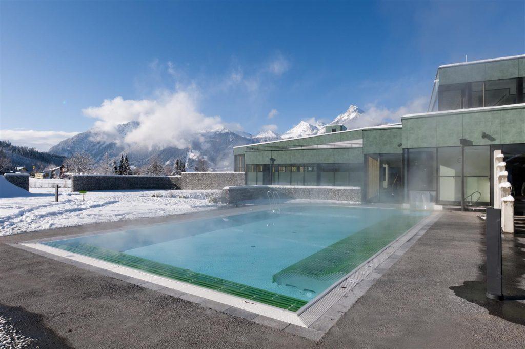 Alpentherme Ehrenberg - Saunagarten Winter